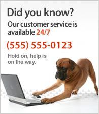 Nasz dział obsługi klienta jest dostępny 24/7. Zadzwoń do nas na bezpłatny numer 0 800 KUPUJ-UNAS.